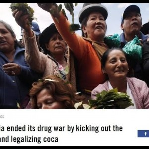 Bolivia ended its drug war by kicking out the DEA and legalizing coca,NOW STOP THE WAR IN THE USA - YouTube